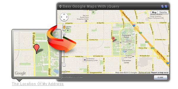 Sexy Google Maps With jQuery